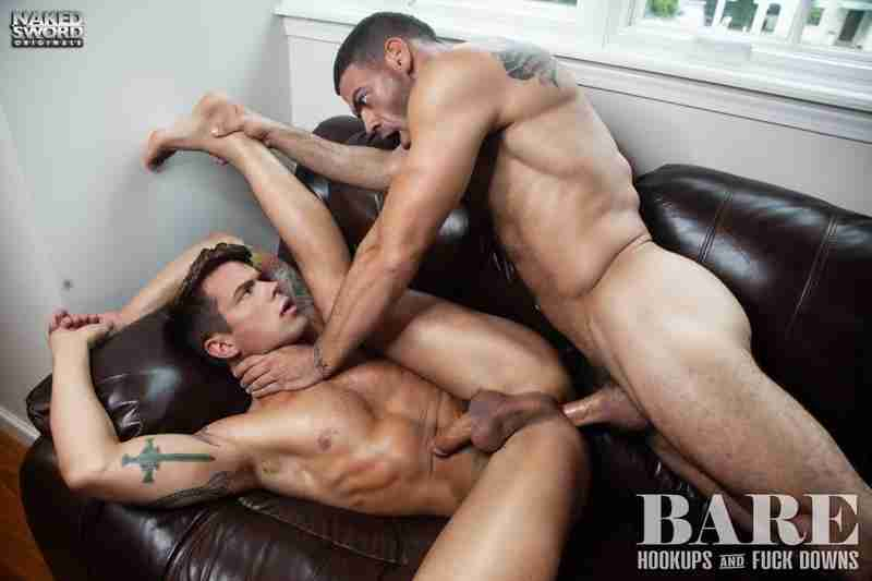 Bare: Hookups And Fuck Downs: Ricky Larkin And Dakota Payne [Bareback]