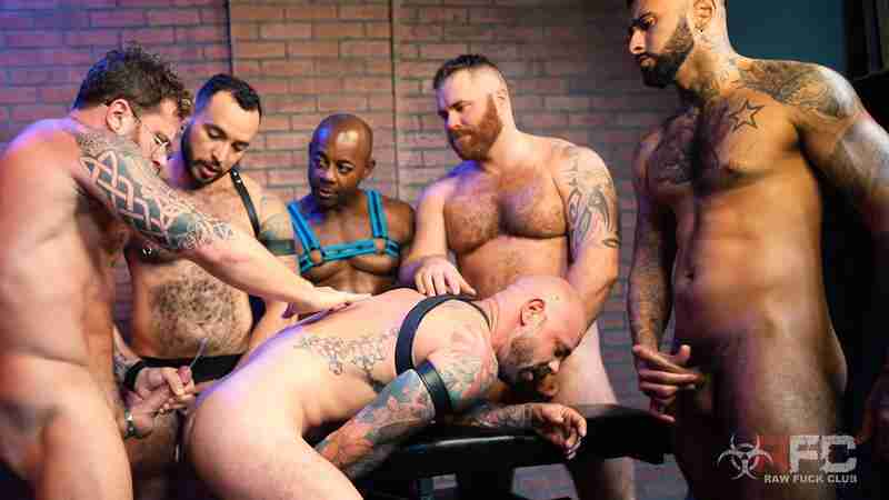 Pig Week Orgy 2019, Part 2 [Bareback]