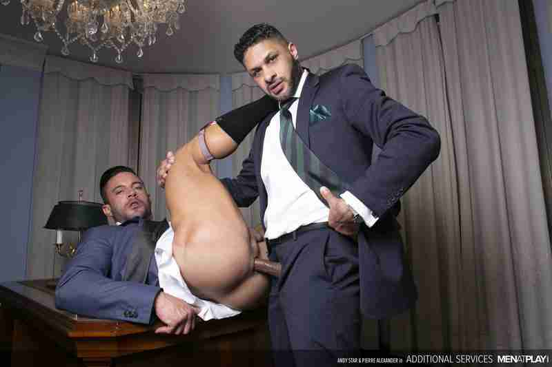 """Andy Star, Pierre Alexander """"Additional Services"""" [Bareback]"""