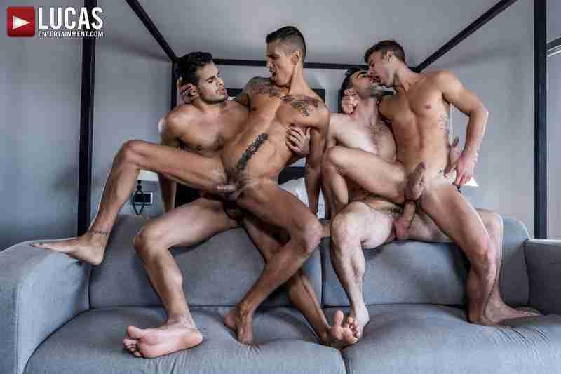 Max Arion, Allen King, Rico Marlon, Max Avila | Four-Way Breeding