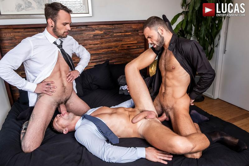 Drake Rogers Works Hard For Jeffrey Lloyd And Andrey Vic