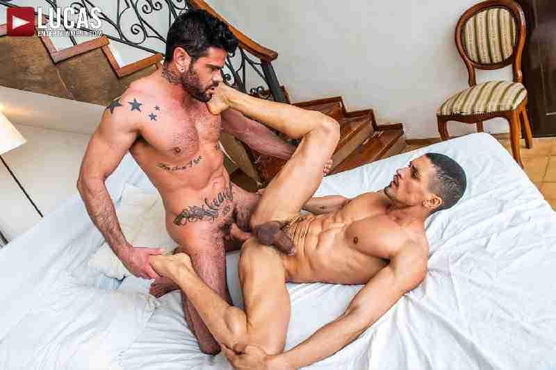 Ibrahim Moreno And Mario Domenech Flip-Fuck Raw