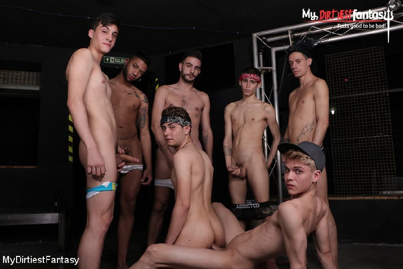 Spanish Twink is a Dirty Piss Slut (Part 1 of 2)[Bareback]