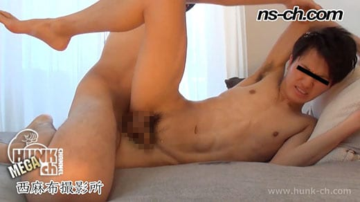 HUNK CHANNEL – NS-458 – 巨根男子大学生に強制フェラ!!騎乗位で生掘り!!
