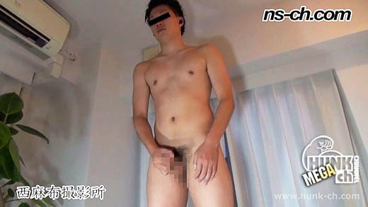 HUNK CHANNEL – NS-575 – 体育会ノンケのオナニー(173cm64kg20歳)
