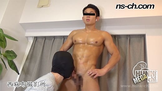HUNK CHANNEL – NS-591 – 体育会男子が仁王立ち(俊樹君編)