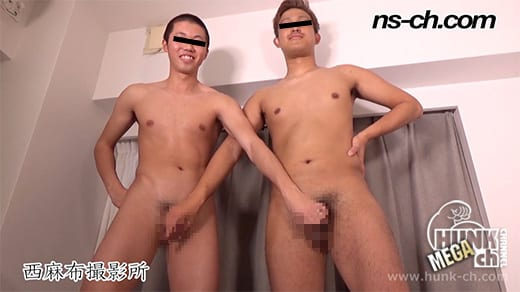 HUNK CHANNEL – NS-728 – 男経験0の体育会男子(175cm64kg19歳・185cm80kg19歳)