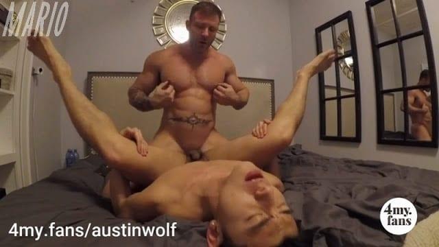 Austin Wolf fucks Jaesyun [Bareback]