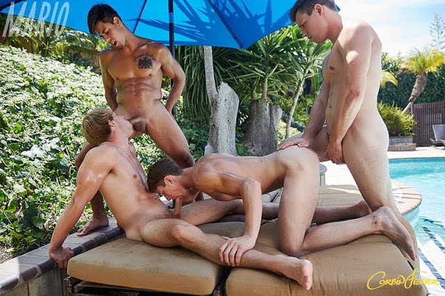 "Ellis, Jacob, Kellan, Marc ""San Diego Free 4 All"" [Bareback]"