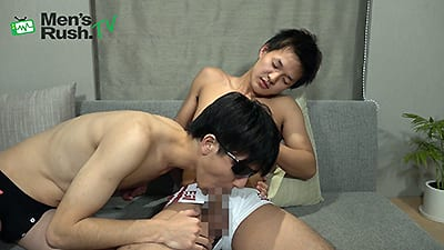 Men's Rush.TV – MR-TK379 – 大人っぽく成長中のあどけない少年をフェラ&手コキ&アナル責め!