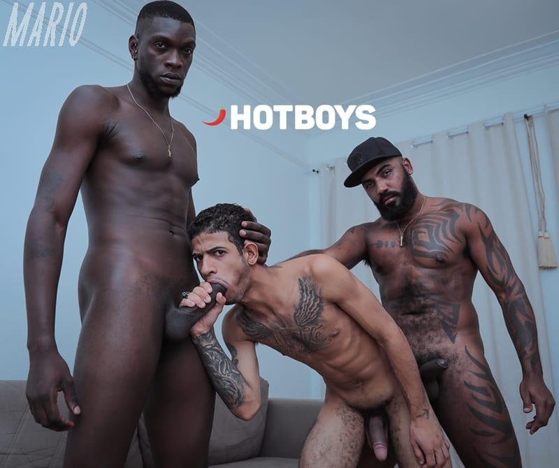 O Trio HOT 9 – Vitor Guedes, San Bolt e Michelzinho [Bareback]