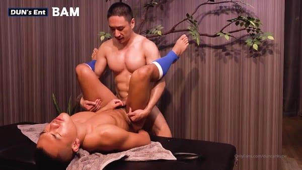 Asian Men enjoy their love