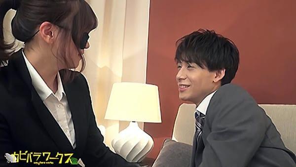 Men's Rush.TV – CAPY-566 – AV男優【梅川嵐】アフターワークSEX!!汗だく本気ピストンでぶっ飛び射精!!