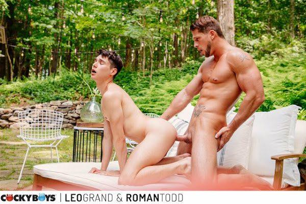 LEO GRAND & ROMAN TODD (BAREBACK)