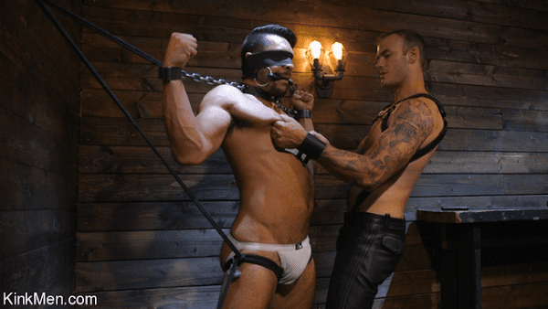 SETH SANTORO MUSCLE SUBMISSIVE SUFFERS FOR CHRISTIAN WILDE
