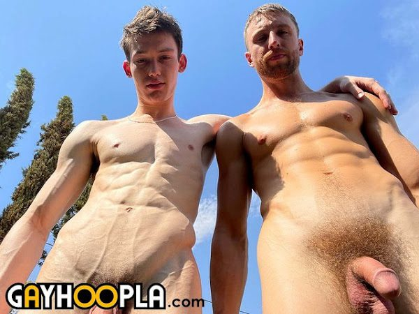 KINGSLEY KROSS GETS A MOUTHFUL OF THOMAS ROSEWOOD'S COCK!