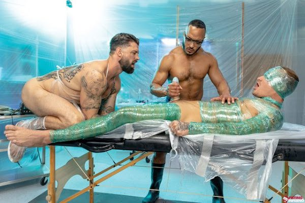 WRAPPED SCENE 3 DILLON DIAZ, ALPHA WOLFE AND ISAAC X