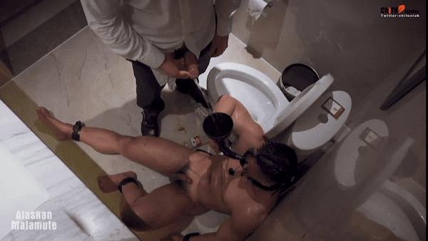 Hot Chinese boy BDSM