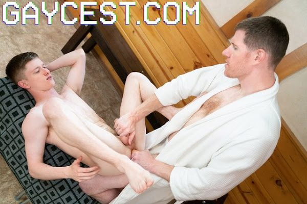 THE DOCTOR'S SON TAPE 10 JERKING OFF WITH DAD (BAREBACK)