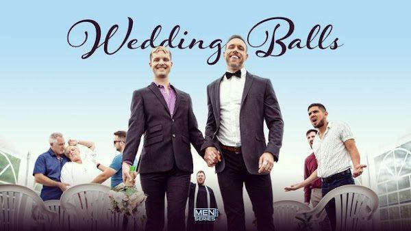 "ALEX MECUM, MALIK DELGATY, BENJAMIN BLUE ""WEDDING BALLS UNCUT"" (BAREBACK)"